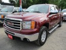 Used 2013 GMC Sierra 1500 'GREAT VALUE' READY TO WORK SLE MODEL Z71 PACKAGE 5 PASSENGER 5.3L - V8.. 4X4.. CREW CAB.. SHORTY.. CD/AUX INPUT.. KEYLESS ENTRY.. for sale in Bradford, ON
