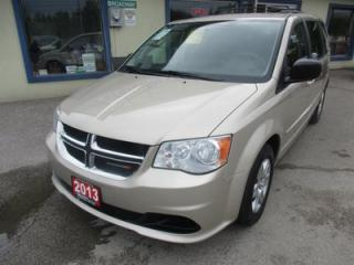 Used 2013 Dodge Grand Caravan FAMILY MOVING SXT MODEL 7 PASSENGER 3.6L - V6.. CAPTAINS.. FOUR-WAY CAPTAINS.. FULL STOW-N-GO.. ECON-BOOST.. FLEX FUEL.. for sale in Bradford, ON