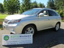 Used 2010 Lexus RX 450h Hybrid, Navi, Load, Insp, Warr for sale in Surrey, BC
