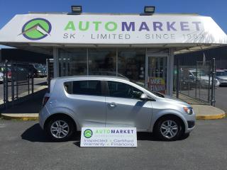 Used 2012 Chevrolet Sonic 2LT 5-Door BLUETOOTH, LOADED! for sale in Langley, BC