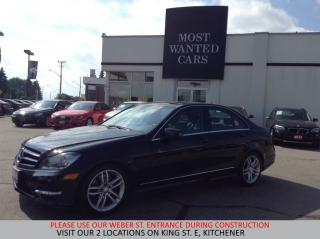 Used 2014 Mercedes-Benz C 300 4Matic DUAL ROOF   BLIND SPOT   LANE DEP.. for sale in Kitchener, ON