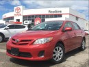 Used 2012 Toyota Corolla CE Convenience Pkg w/ Power Windows, Keyless Entry for sale in Etobicoke, ON