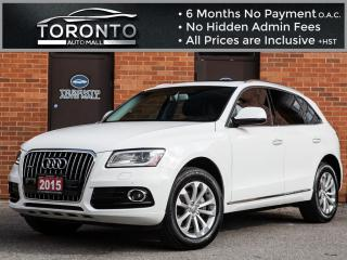 Used 2015 Audi Q5 2.0T Technik+Navi+Bang & olufsen+Camera+Pano roof for sale in North York, ON