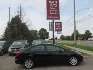 Used 2012 Honda Civic EX-L for sale in Waterloo, ON