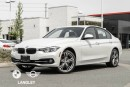 Used 2017 BMW 3 Series Sport Line, Premium Package Enhanced, AND Smartphone Connectivity Package! for sale in Langley, BC
