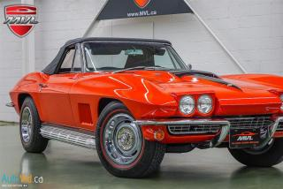 Used 1967 Chevrolet Corvette 427 StingRay Convertible for sale in Oakville, ON