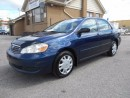 Used 2005 Toyota Corolla CE 1.8L 5Speed Manual Loaded Certified New Tires for sale in Etobicoke, ON