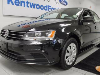 Used 2016 Volkswagen Jetta TSI with heated seats, back up cam, easy access to trunk button for sale in Edmonton, AB
