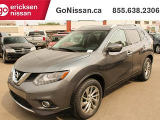 Used 2014 Nissan Rogue SL, Leather, Sunroof, Bluetooth, AWD for sale in Edmonton, AB