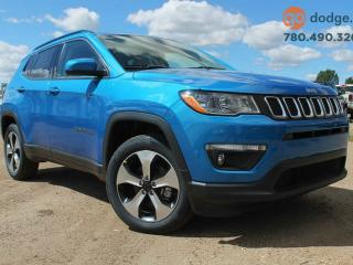 Used 2017 Jeep New Compass North 4x4 Rear Back Up Camera / Heated Steering Wheel / Heated Front Seats for sale in Edmonton, AB