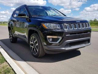 Used 2017 Jeep New Compass Limited 4x4 GPS Navigation / Rear Back Up Camera / Heated Steering Wheel / Heated Front Seats for sale in Edmonton, AB