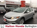 Used 2012 Honda Civic EX / REAR VIEW CAMERA / HEATED SEATS for sale in Burlington, ON