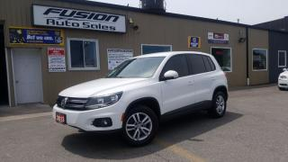 Used 2013 Volkswagen Tiguan Trendline-AWD-COLD WEATHER PKG-BLUETOOTH-ALLOYS for sale in Tilbury, ON