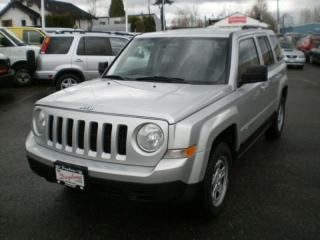Used 2011 Jeep Patriot North, full service history, for sale in Surrey, BC