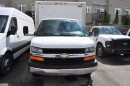 Used 2008 Chevrolet Express 3500 16 foot Cube van. for sale in Aurora, ON