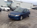 Used 2012 Honda Civic LX for sale in Gander, NL