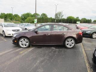Used 2015 CHEV CRUZE LT RS FWD for sale in Cayuga, ON