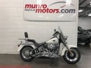 Used 2000 Harley-Davidson FLSTFB Fat Boy Touring Chrome Clean Backrest Windsheild for sale in St George Brant, ON