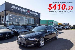 Used 2013 Audi S4 Premium| STaSIS Signature| B&O Sound|Accident Free for sale in Markham, ON