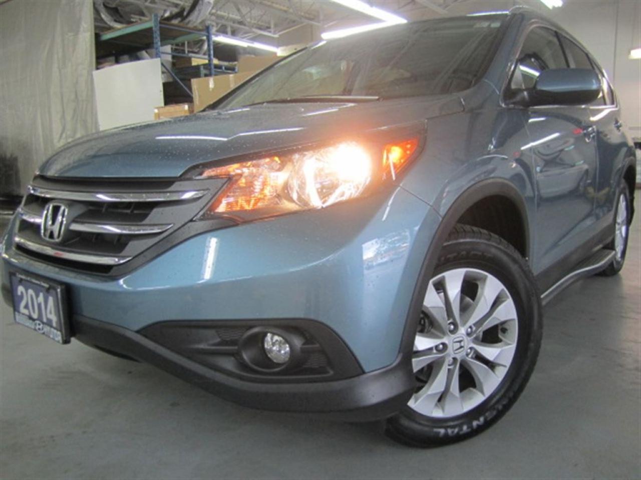 2014 Honda CR-V EX-L-laether-sunroof-AWD-MINT