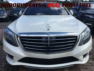Used 2015 Mercedes-Benz S-Class S550 4MATIC**AIR SUSPN**ADPTV CRUZ**360 CAM** for sale in Mississauga, ON