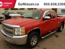 Used 2013 Chevrolet Silverado 1500 AUTO, 4X4, HANDSFREE for sale in Edmonton, AB