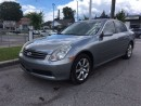 Used 2006 Infiniti G35 Luxury for sale in Scarborough, ON