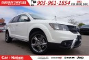 Used 2017 Dodge Journey Crossroad for sale in Mississauga, ON