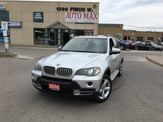 Used 2010 BMW X5 35d, Navigation, DVD, Rear View Camera for sale in North York, ON