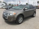 Used 2013 Ford EDGE SEL * NAV * BACKUP CAM * TOUCH SCREEN * BLUETOOTH * PREMIUM CLOTH SEATING for sale in London, ON