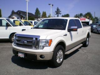 Used 2010 Ford F-150 King Ranch, navigation, sunroof, for sale in Surrey, BC