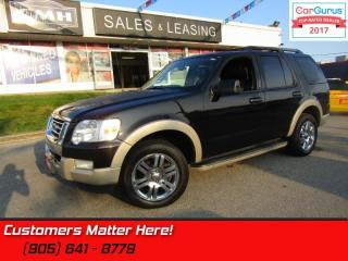 Used 2010 Ford Explorer Eddie Bauer  - Leather Seats -  Bluetooth -  Heated Seats for sale in St Catharines, ON
