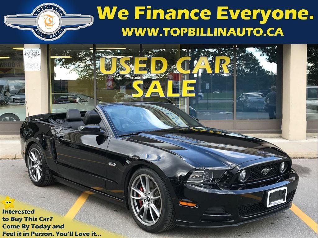 2014 Ford Mustang GT 6 Speed, Navigation, Brembo Pkg 24K Kms