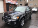 Used 2010 Ford Escape Limited for sale in Hamilton, ON