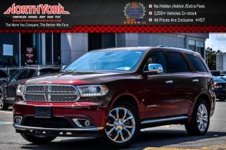Used 2016 Dodge Durango Citadel AWD|6-Seater|Leather|Nav|Sunroof|Backup Cam|20