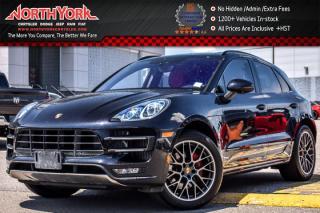 Used 2015 Porsche Macan Turbo AWD|Nav|Pano_Sunroof|Burmester|Leather|LaneKeep|20