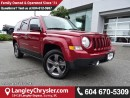 Used 2016 Jeep Patriot Sport/North W/ SUNROOF & LEATHER UPHOLSTERY for sale in Surrey, BC