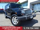 Used 2011 Jeep Wrangler Unlimited 70th Anniversary EDITION W/LEATHER & BLUETOOTH for sale in Surrey, BC