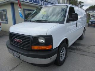 Used 2017 GMC Savana 3/4 TON WORK READY CARGO MOVER 2 PASSENGER 4.8L - VORTEC.. CD/AUX INPUT.. TRACTION CONTROL.. TOW SUPPORT.. for sale in Bradford, ON