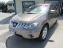 Used 2010 Nissan Murano POWER EQUIPPED SV MODEL 5 PASSENGER 3.5L - V6.. AWD.. HEATED SEATS.. CD/AUX INPUT.. XTRONIC CVT.. for sale in Bradford, ON