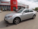 Used 2013 Acura TL Elite... ONE OWNER.. FULLY LOADED for sale in Milton, ON