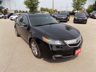 Used 2014 Acura TL W/Tech Package... NAVIGATION SYSTEM... LOW KMS for sale in Milton, ON