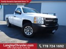 Used 2010 Chevrolet Silverado 1500 WT W/POWER GROUP & AIR CONDITIONING for sale in Surrey, BC