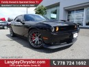 Used 2015 Dodge Challenger SRT 392 W/ NAVIGATION & NAPPA SUEDE/LEATHER SEATS for sale in Surrey, BC