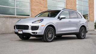 Used 2017 Porsche Cayenne Platinum Edition | PORSCHE CERTIFIED for sale in Vancouver, BC