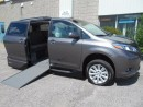 Used 2017 Toyota Sienna XLE- Wheelchair Accessible Side Entry Conversion for sale in London, ON