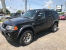 Used 2003 Mitsubishi Montero Sport LS l 4x4 l Solid and Simple for sale in Waterloo, ON