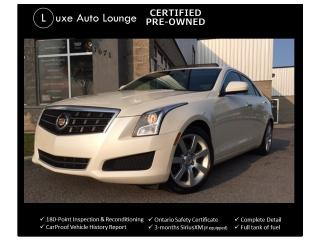 Used 2014 Cadillac ATS SUNROOF, LEATHER, POWER HEATED SEATS, BOSE AUDIO! for sale in Orleans, ON