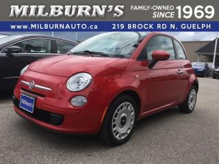 Used 2012 Fiat 500 Pop for sale in Guelph, ON