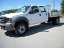 Used 2005 Ford F-550 Crew Cab | Flatbed for sale in Stratford, ON